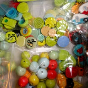 Ceramic Beads and Charms BARGAIN LOTS!