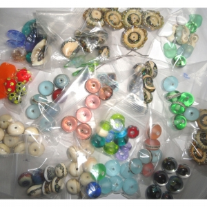 SUPER SALE Glass Bead Bagged Bargain Lots!