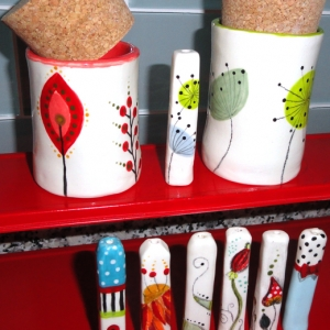 ♦ Handmade Stash Pots and Chillums