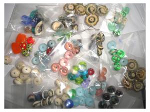 Super Sale Bagged Lampwork GLASS Bargain Lots!!