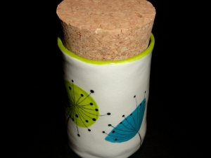 Dandelion Stash Pot...Whatever you want to put in there, be it bud or edibles, Keep it dry, keep it fresh, keep it safe!