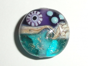 new color combo sparkling sea tabs in violet and teal set of four