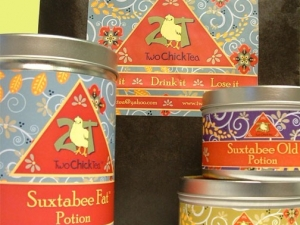 Two Chick Tea Organic, medicinal, herbal teas!
